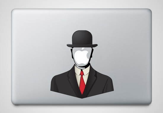 Son of Man MacBook Sticker