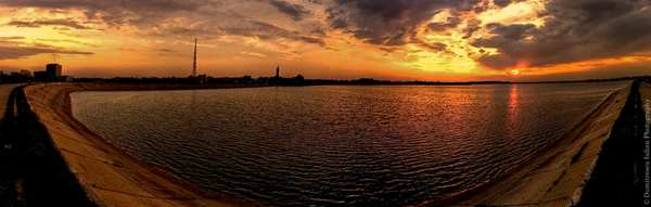 Sunset Panorama by Scorpion Entity
