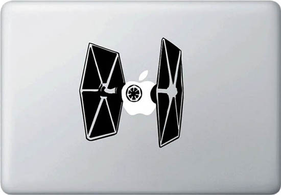 TIE Fighter MacBook Decal Sticker