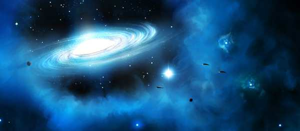 The Cosmos: Create a Spiral Galaxy With Light Effects
