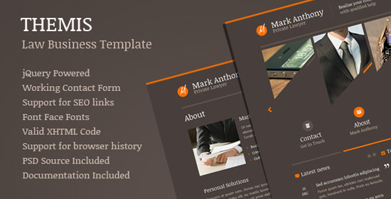Themis - Law Business Template
