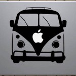 VW Camper Van MacBook Decal Sticker