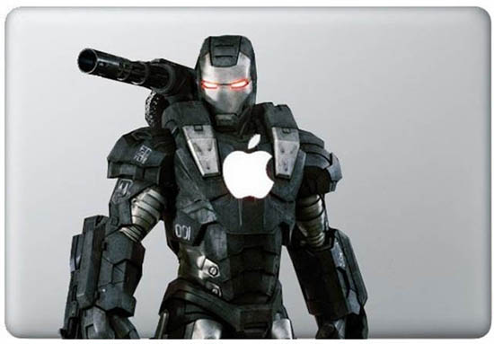 War Machine MacBook Decal Sticker