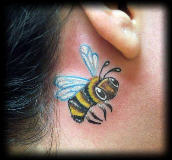Bubble Bee Tattoo