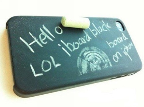 Chalking iPhone 4s Cover