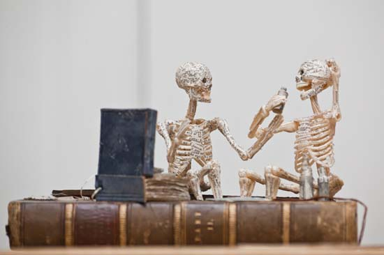 Paper Book Sculptures