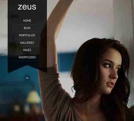 Zeus – Fullscreen Video & Image Background