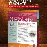 10-Pages Newsletter Template