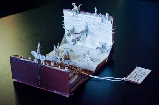 Paper Book Sculptures