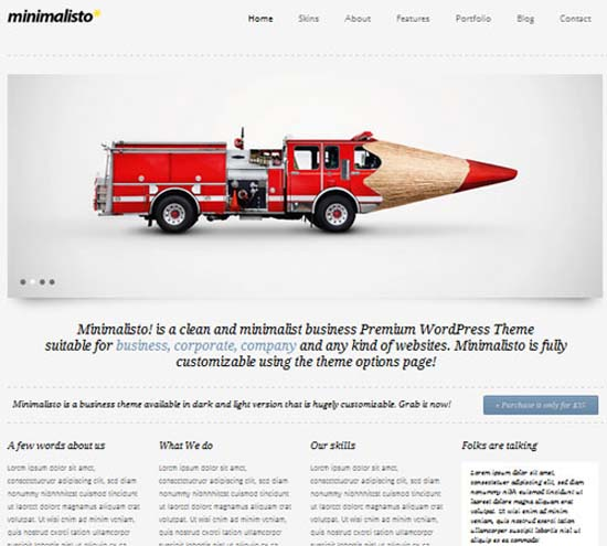 Minimalisto – Premium WordPress Theme