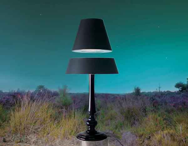 14-Levitating Lamp Shades