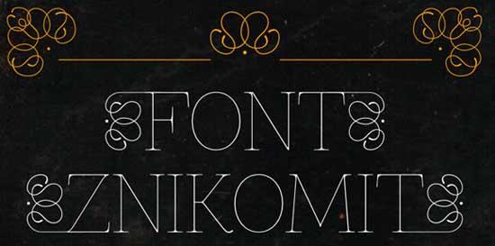 17-Znikomit-Font