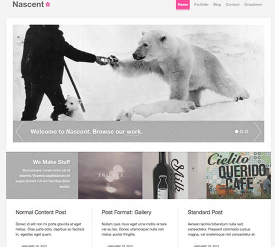 Nascent – Agency WordPress Theme