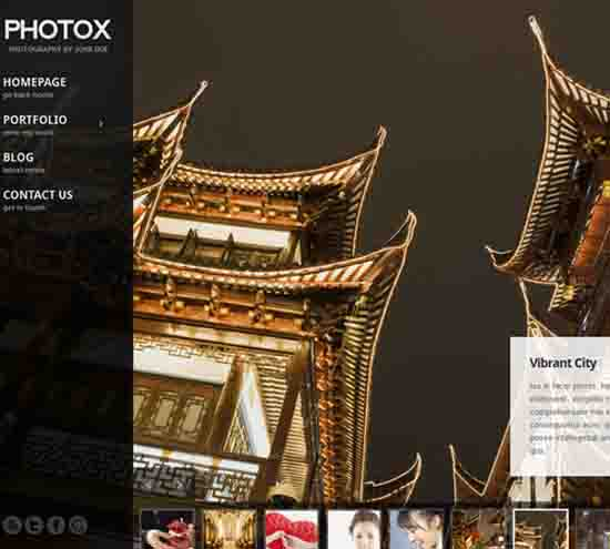 Photox – Creative Photography Theme