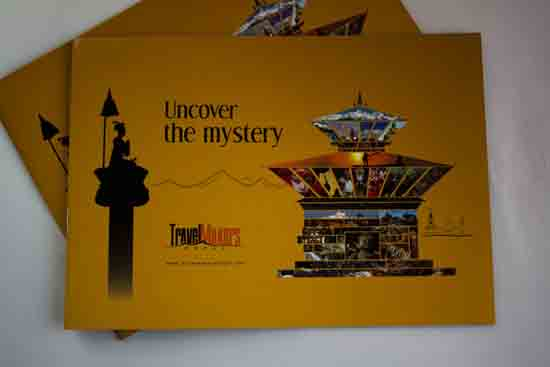 Travel Makers Nepal - Brochure Design