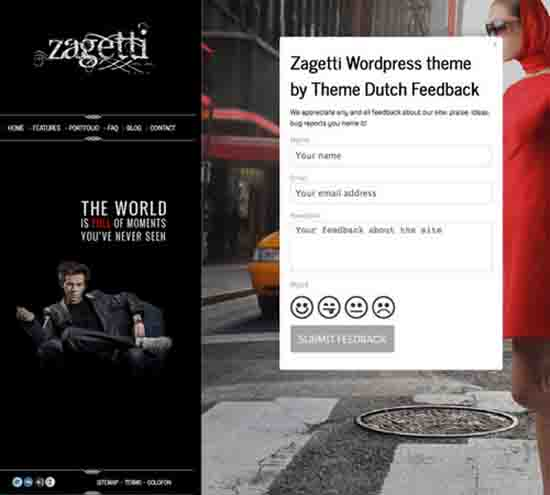 Zagetti I A Stylish WordPress theme
