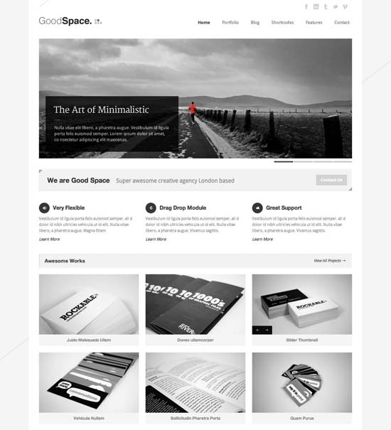 22-good-space-responsive-minimal-wp-theme