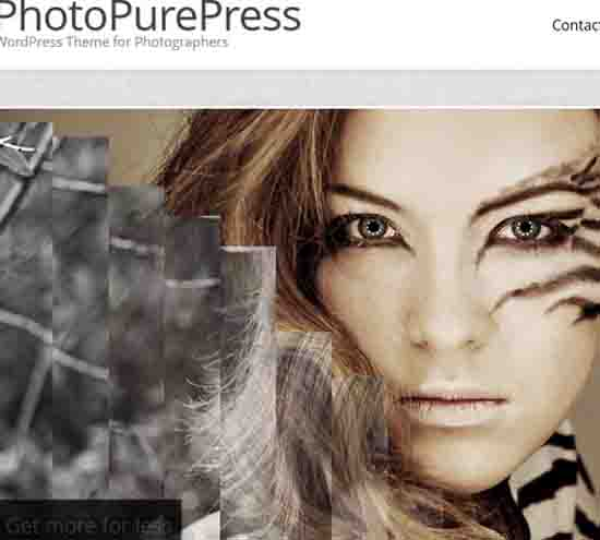 PhotoPurePress – WordPress for Photographers