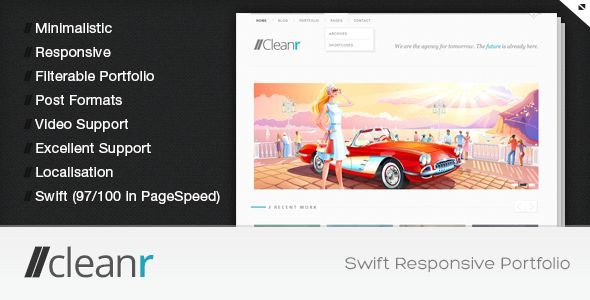 24-Cleanr-Responsive-Minimal-&-Beautiful-Portfolio