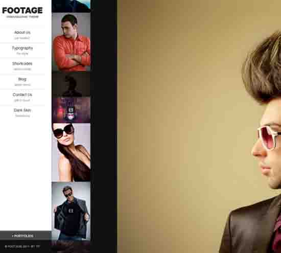 Footage – A Photo & Video Production Theme