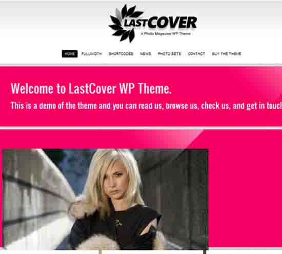 LastCover Magazine Premium WordPress Theme