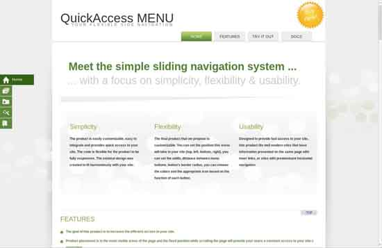 3.QuickAccess Menu