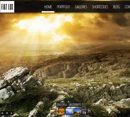 FIAT LUX – Fullscreen Image & Video Background WP
