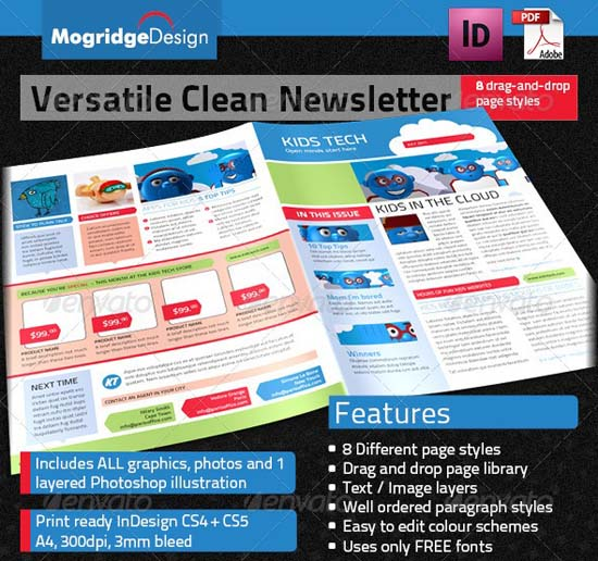 6-Versatile Newsletter Deal Sheet