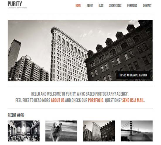 25 Clean Minimal WordPress Themes