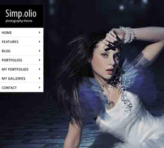 Simpolio – Fullscreen Portfolio & Blog WP Theme