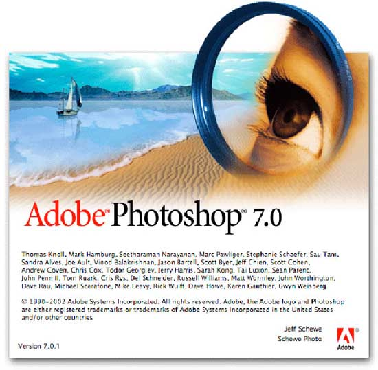 adobe photoshop 7.0 2002