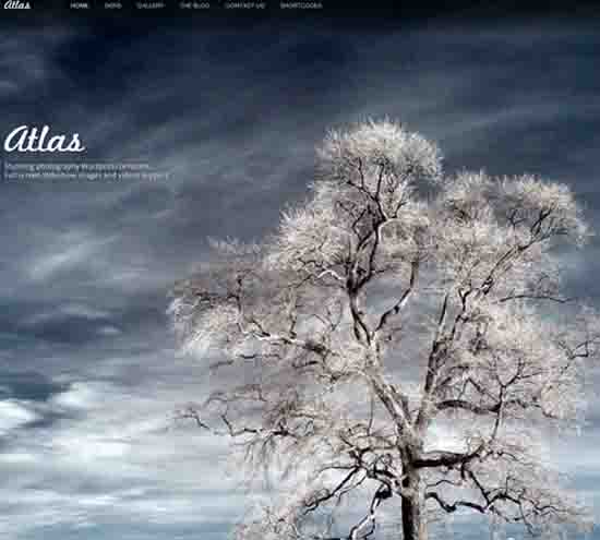 Atlas For Photography Creative Portfolio