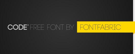 9-Code-free-font