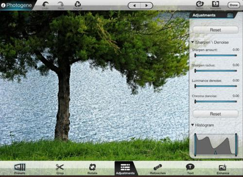 Photogene for iPad