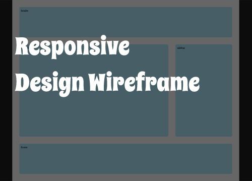 Receptive Wireframes
