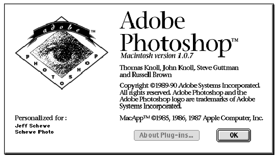 Version 1.0 1990