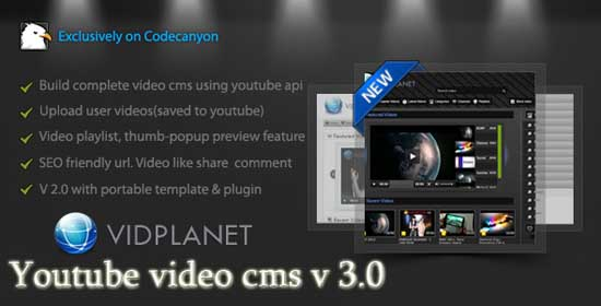 Vidplanet Youtube Video Cms1