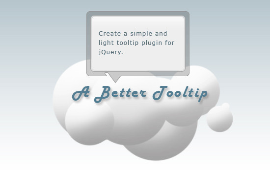 Build a Better Tooltip with jQuery Awesomeness