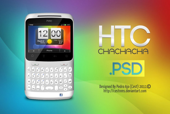 HTC Chachacha PSD