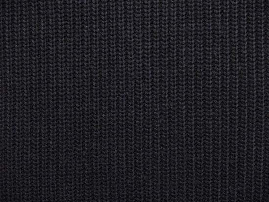 dark blue knitted fabric