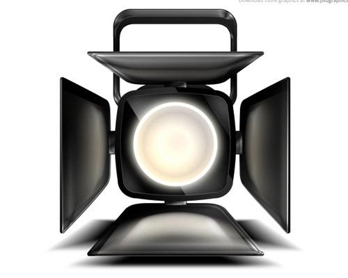 25-spotlighticonpsdfile