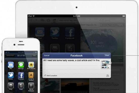 3. Facebook Integration