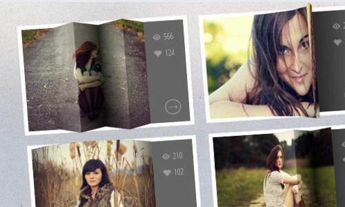 3D Thumbnail Hover Effects With CSS