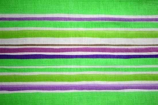 Striped Fabric Texture Green and Purple