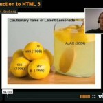 Comprehensive video tutorial on HTML5