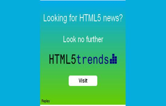 Creating an ad in HTML5