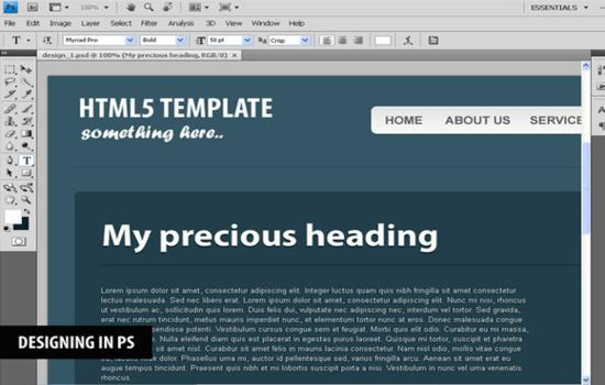 How to Code a CSS3 & HTML5 One-Page Website Template