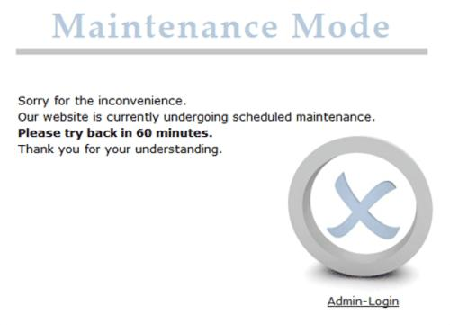 WP Maintenance-Mod