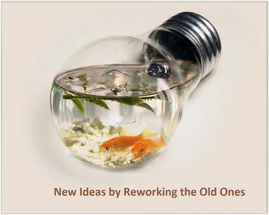 New ideas by reworking the old ones