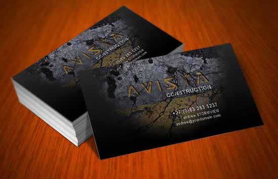30 free business cards psd templates